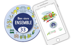 page d'accueil application mobile BVE33