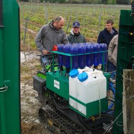 Exp rimentations en viticulture chambre d 39 agriculture - Chambre agriculture gironde ...